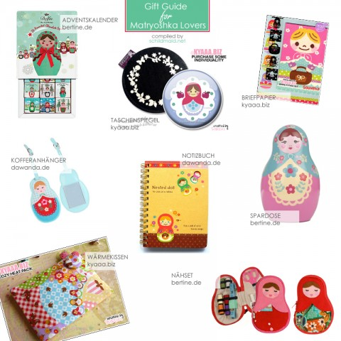 Gift Guide for Matryoshka Lovers