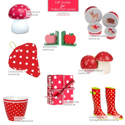 Gift Guide for Polka Dot Lovers