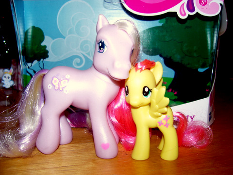 My little Pony G4 Fluttershy's Nursery Tree